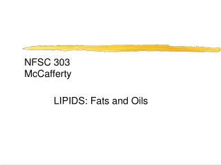NFSC 303 McCafferty
