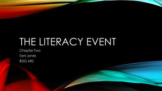 The Literacy event