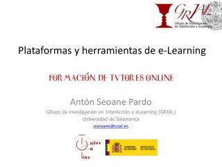 Plataformas y herramientas de e-Learning