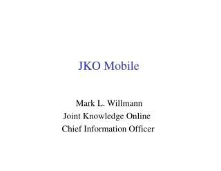 JKO Mobile