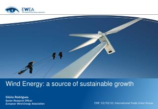 Wind Energy: a source of sustainable growth