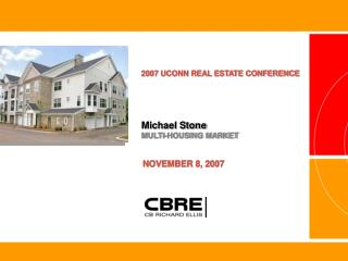 Michael Stone MULTI-HOUSING MARKET