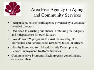 Area Five Agency on Aging and Community Services
