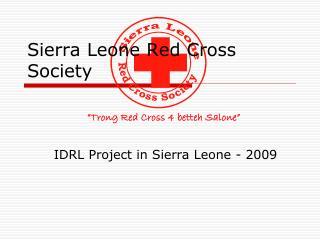Sierra Leone Red Cross Society