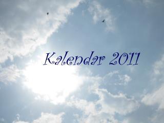 Kalendar 2011