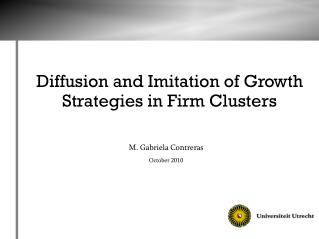 Diffusion and Imitation of Growth Strategies in Firm Clusters