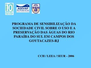 CCH / LEEA / SEUR - 2006
