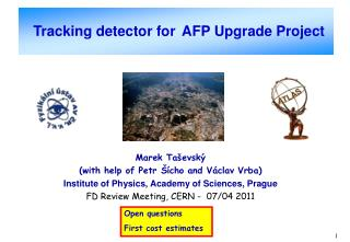Tracking detector for AFP Upgrade Project