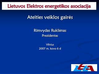 Lietuvos Elektros energetikos asociacija