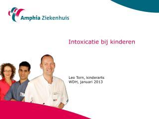 Intoxicatie bij kinderen