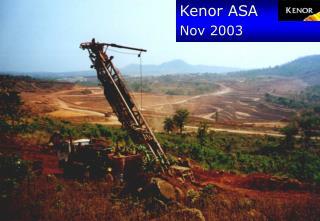 Kenor ASA  Nov  2003