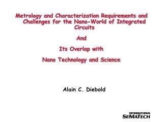 Alain C. Diebold