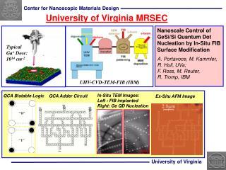 University of Virginia MRSEC