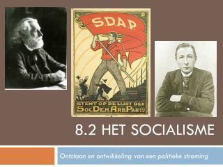 8.2 het socialisme