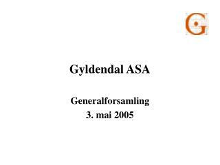 Gyldendal ASA