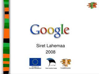 Siret Lahemaa 2008