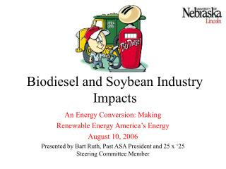 Biodiesel and Soybean Industry Impacts