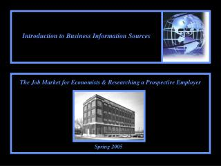 Introduction to Business Information Sources