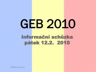 GEB 2010