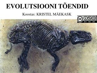 EVOLUTSIOONI TÕENDID