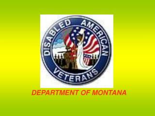DEPARTMENT OF MONTANA