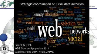 Strategic coordination of ICSU data activities