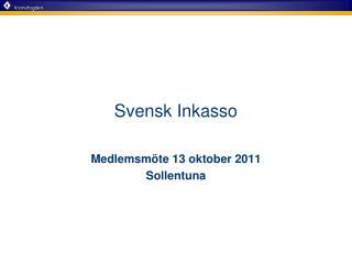 Svensk Inkasso