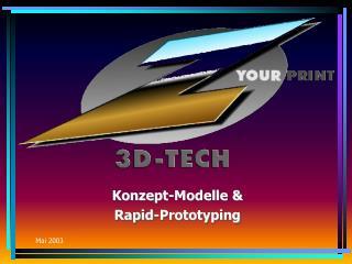 Konzept-Modelle & Rapid-Prototyping