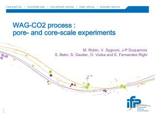 WAG-CO2 process :  pore- and core-scale experiments