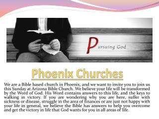 Phoenix Churches