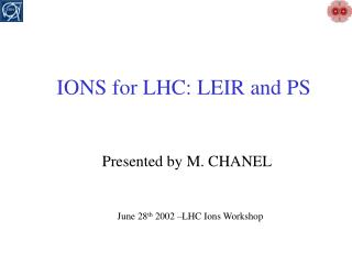 IONS for LHC: LEIR and PS