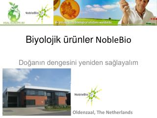 Biyolojik ürünler  NobleBio