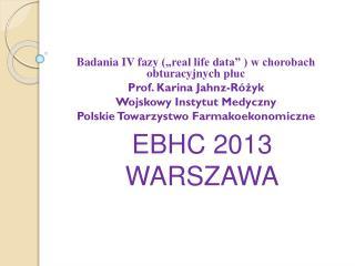 """Badania IV fazy  (""""re al life data"""" ) w chorobach  obturacyjnych  płuc  Prof. Karina  Jahnz-Różyk"""