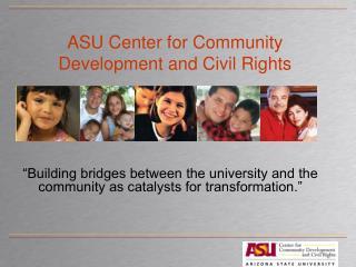 ASU Center for Community Development and Civil Rights