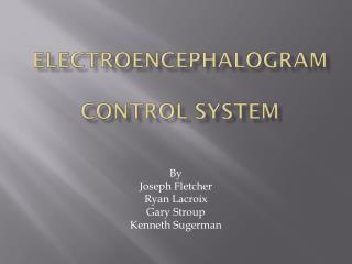 Electroencephalogram  Control System