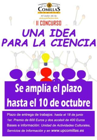 II Concurso:  Una idea para la Ciencia Bases:  1.- Convocatoria