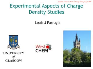 Experimental Aspects of Charge Density Studies