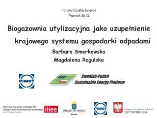 Biogazownia utylizacyjna jako uzupełnienie krajowego systemu gospodarki odpadami