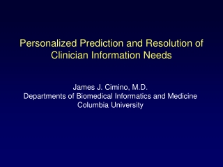 Lessons Learned Building a Clinical Information System