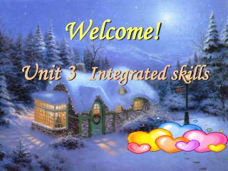 Unit 3 Integrated skills