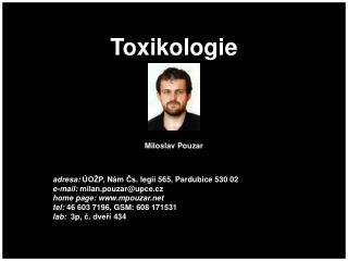 Toxikologie