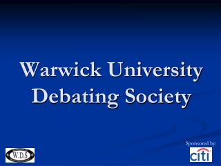 Warwick University Debating Society