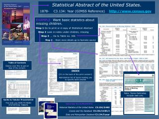 Statistical Abstract of the United States .