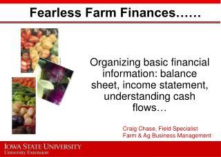 Fearless Farm Finances……