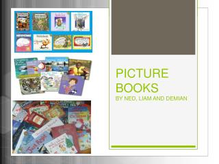 PICTURE  BOOKS BY NED, LIAM AND DEMIAN