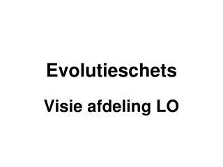 Evolutieschets
