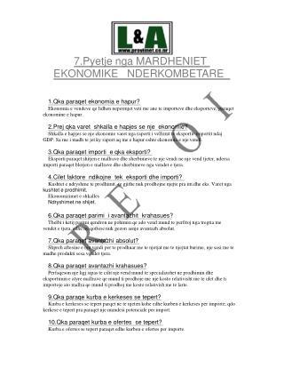7.Pyetje nga MARDHENIET