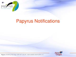 Papyrus Notifications