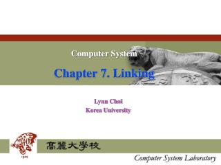 Computer System Chapter 7. Linking