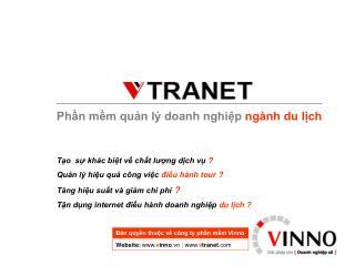 Phần mềm quản lý doanh nghiệp  ngành du lịch